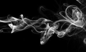 Abstract smoke wave